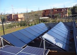 3V SERVICE I NOSTRI LAVORI Impianto solare Sanitario condominiale