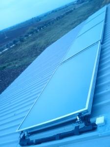 3V SERVICE I NOSTRI LAVORI Solare termico con integrazione riscaldamento e produzione sanitaria