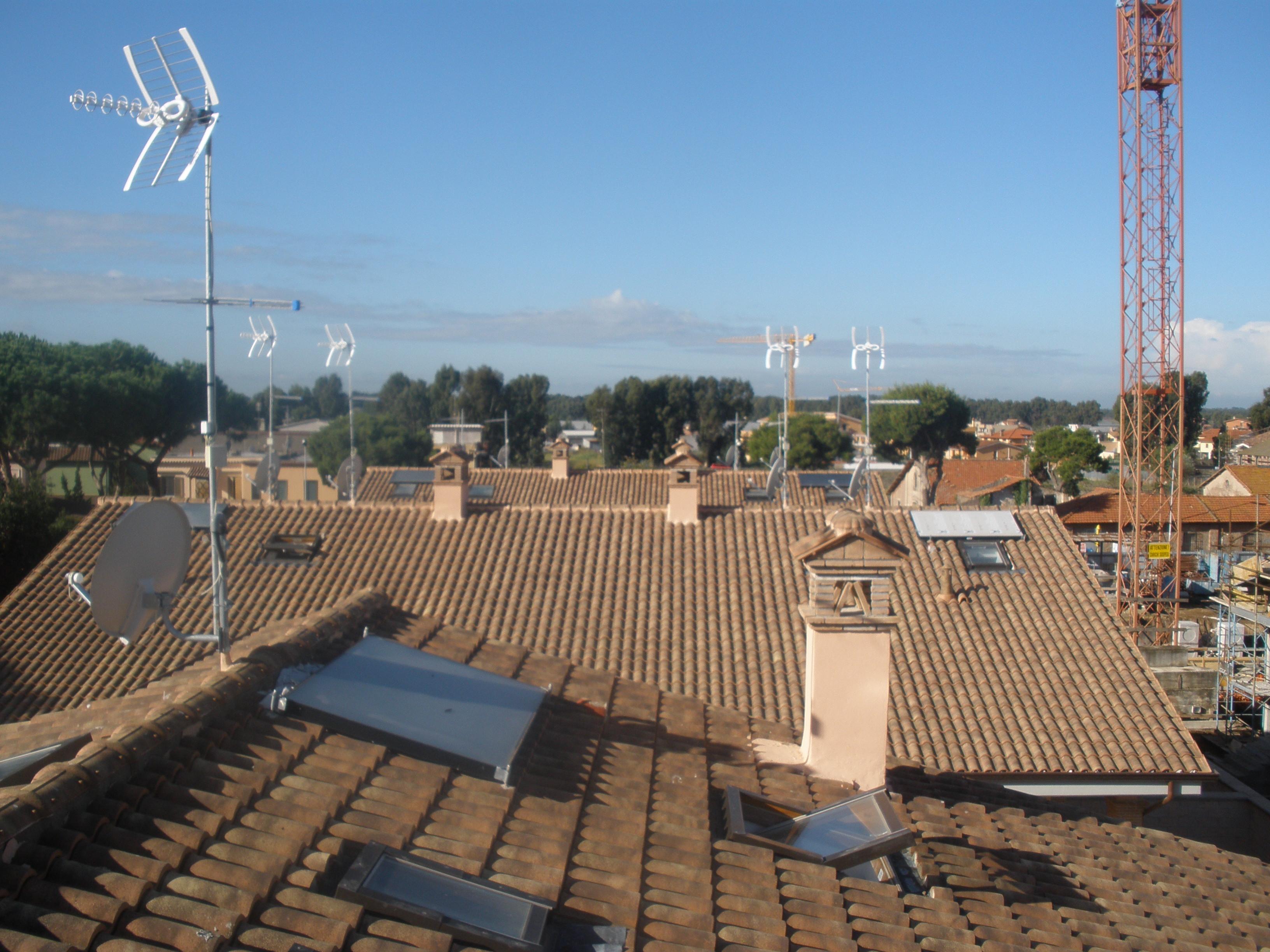 3V SERVICE I NOSTRI LAVORI sistema solare aurostep e ecoinwall
